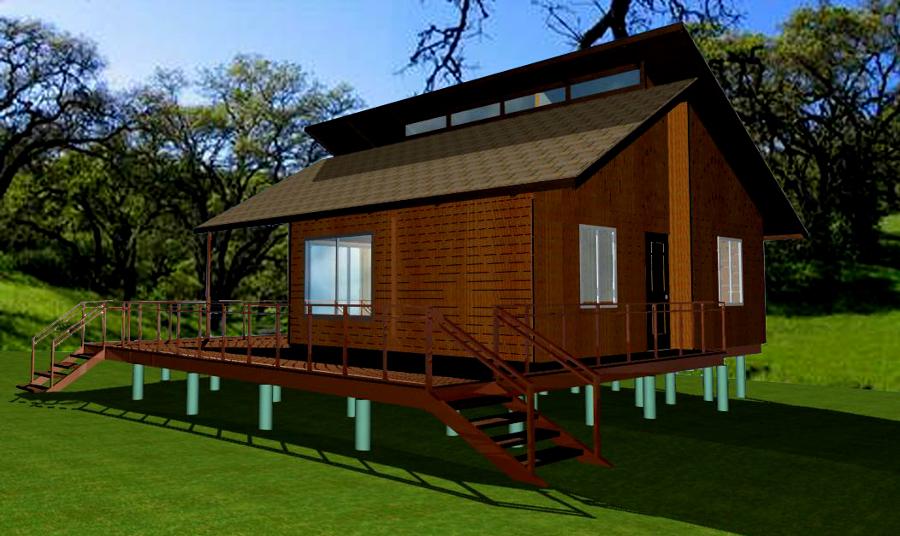 Foto casa prefabricada de clinker construcciones 39585 - Construcciones casas prefabricadas ...