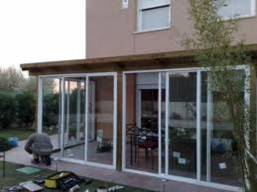 Foto cierre terraza de alummart aluminios 11121 for Cierres de aluminio para terrazas