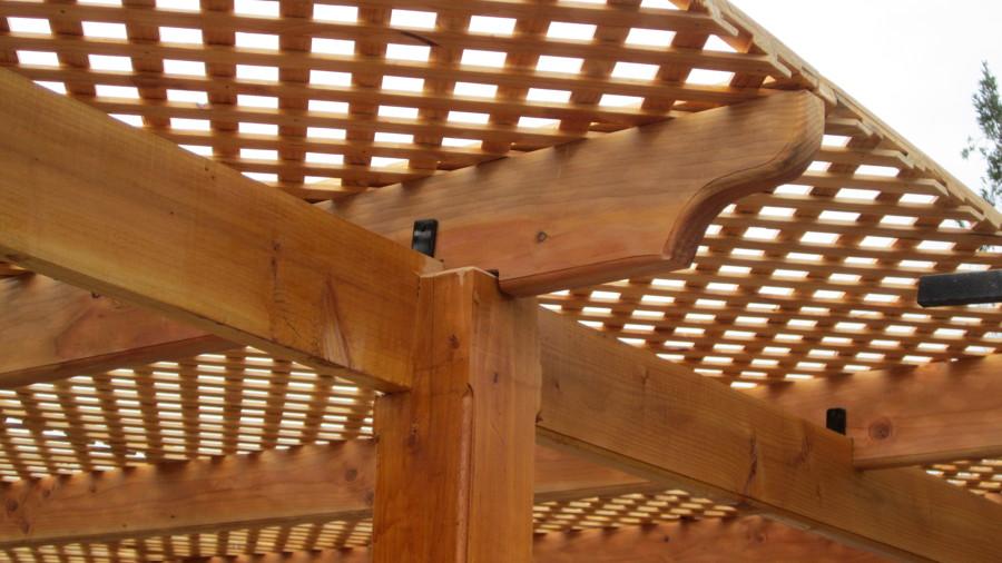 Foto cobertizo con trillage de oskamu construcciones en for Cobertizos de madera precios