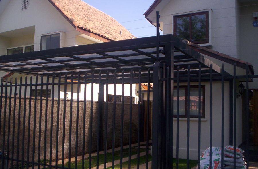 Foto cobertizo met lico de patricio dagoberto aravena for Cobertizos prefabricados metalicos