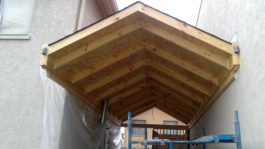 Foto cobertizo de jcg construcciones 14323 habitissimo for Cobertizo de madera para terraza