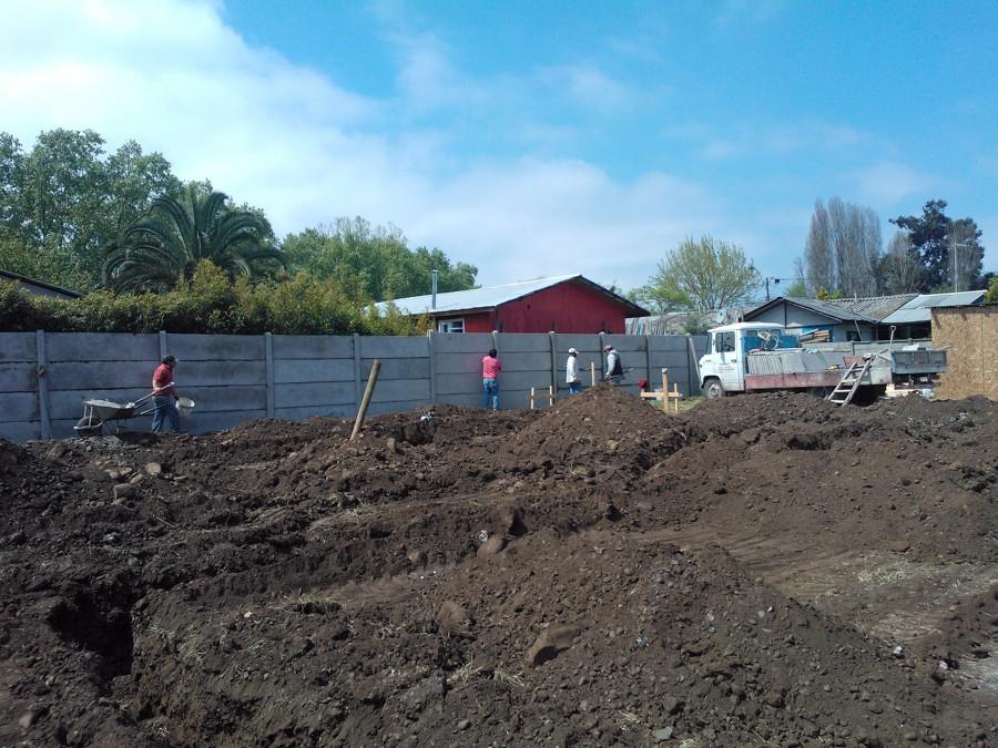 Foto construcci n de casa de campo de novasek 23547 for Construccion casas de campo