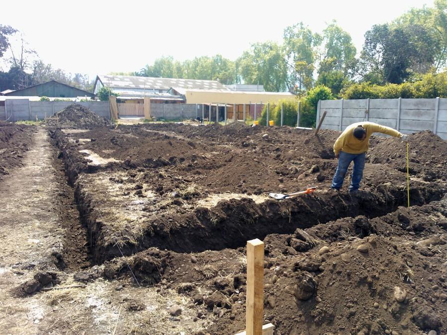 Foto construcci n de casa de campo de novasek 23548 for Construccion casas de campo