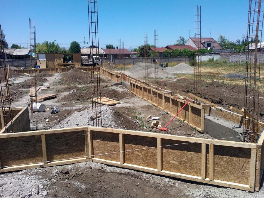 Foto construcci n de casa de campo de novasek 23549 for Construccion casas de campo
