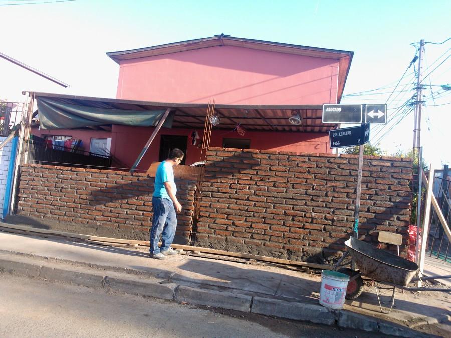 Foto construccion en ladrillo fiscal de daniel retamales - Precios de ladrillos para construccion ...