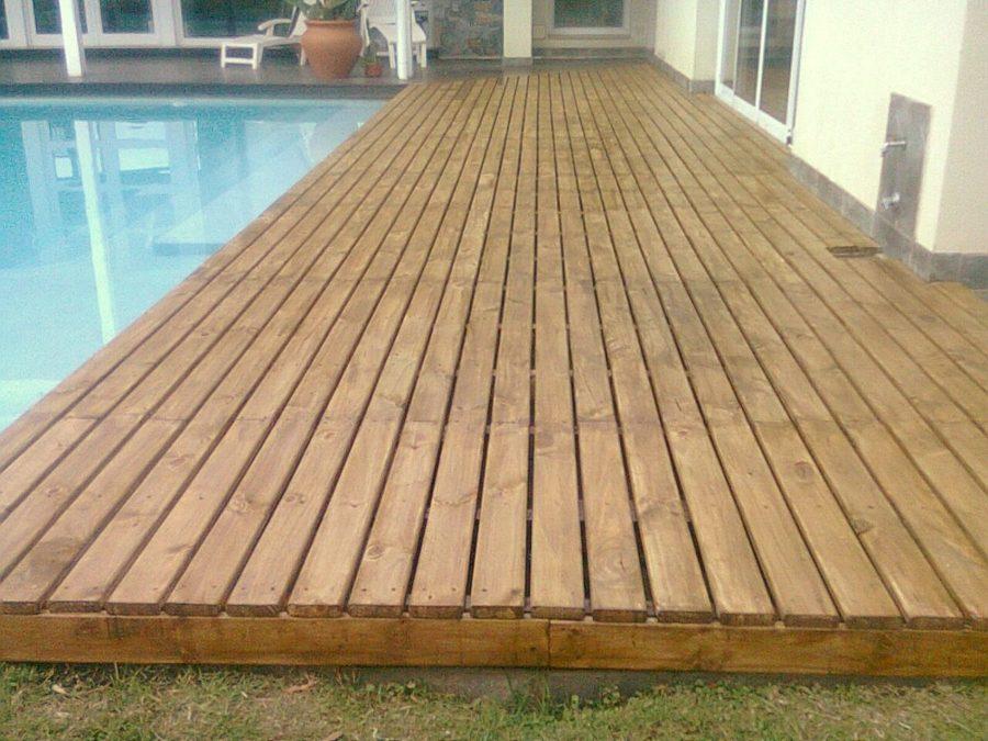 Foto Deck Madera De Cortona Dise O Construcci N 134571