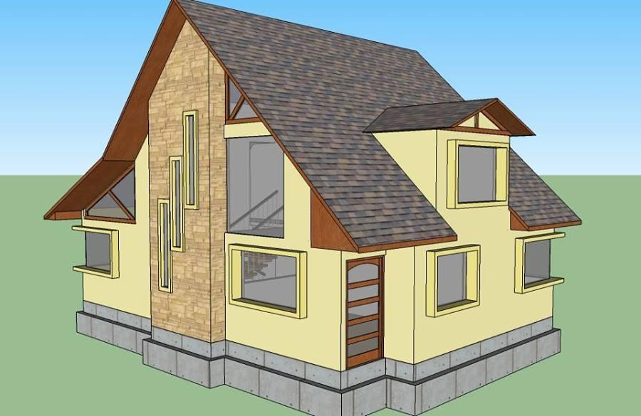 Diseño casa estilo germanica