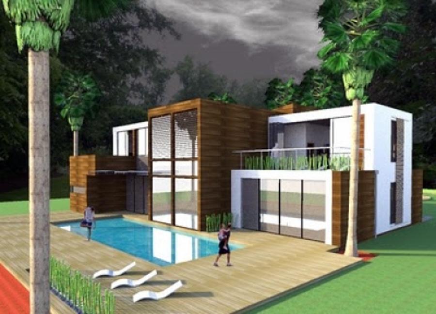 Foto dise o casa estilo mediterraneo ciudad playa - Casas de campo diseno ...