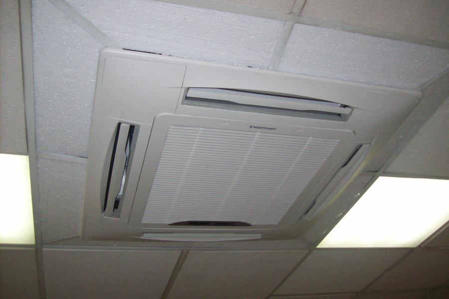 Foto dise o moderno de aire acondicionado de hevia clima for Aire acondicionado oficina