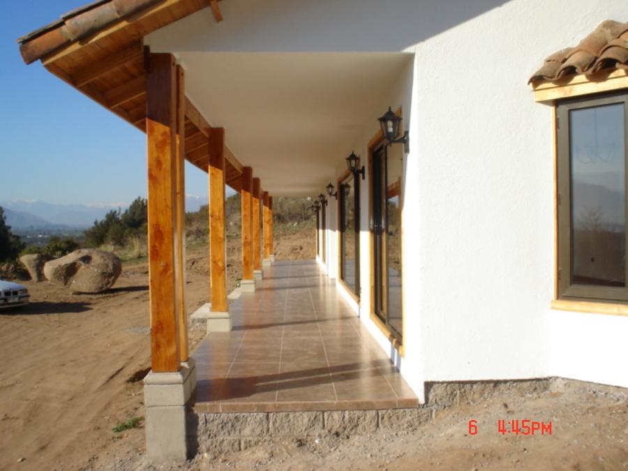 Foto: Casa Estilo Colonial Chileno de Constructora Casas Del Mundo ...