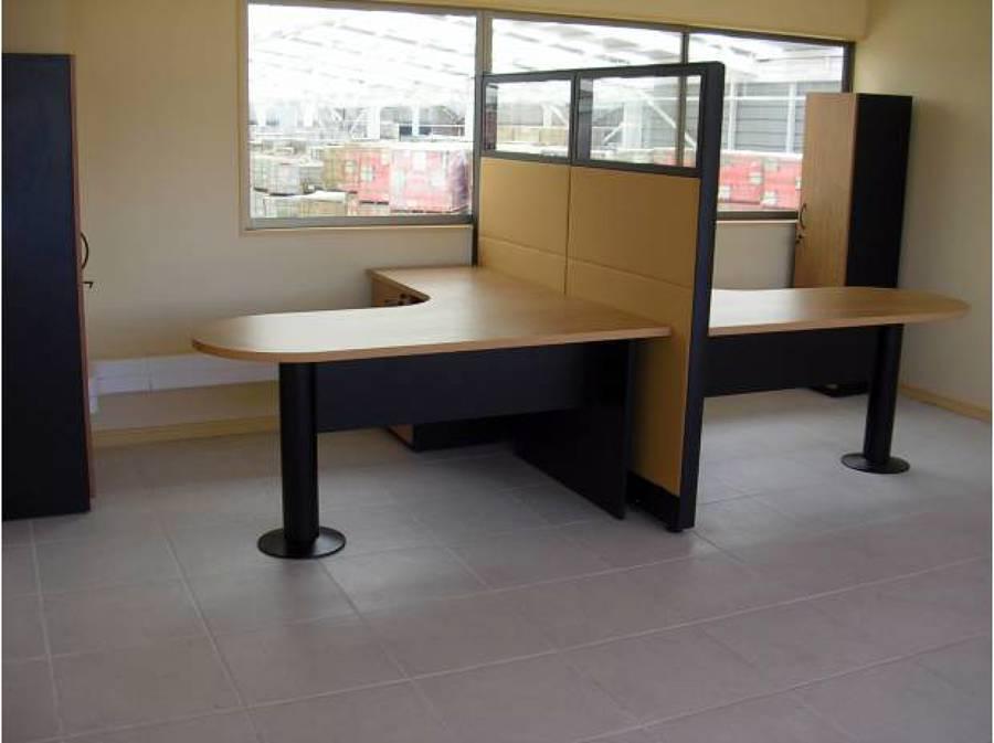 Foto estaci n de trabajo doble de crea oficinas ltda for Estacion de trabajo