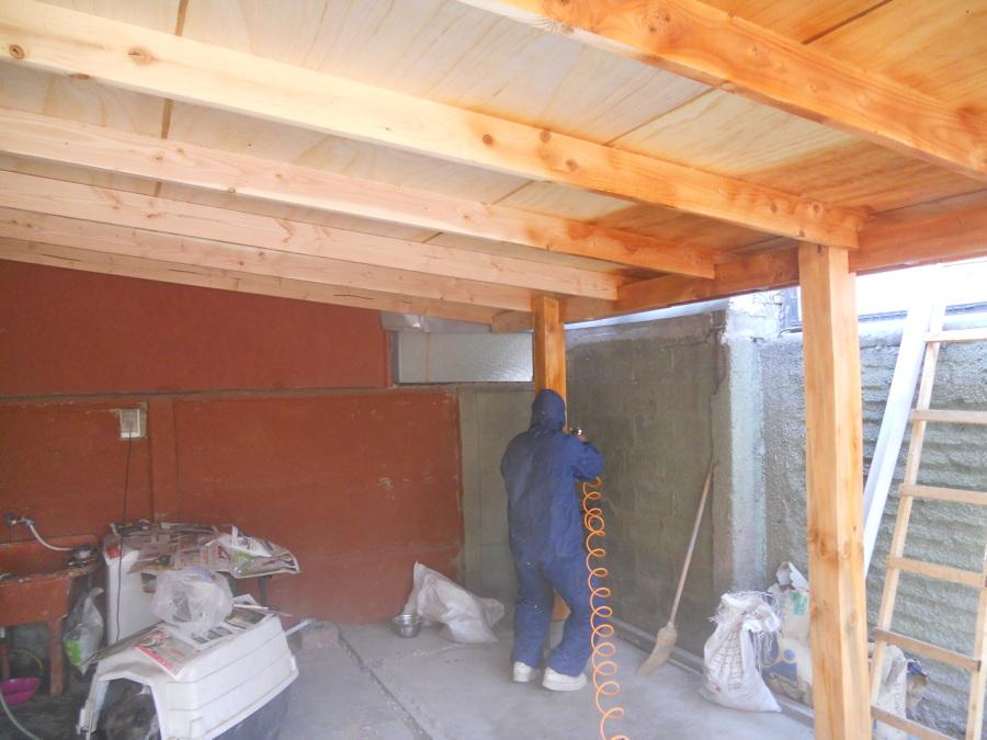 Foto fabricacion de cobertizo en madera de mantenciones diego trujillo 33759 habitissimo - Cobertizo de madera ...