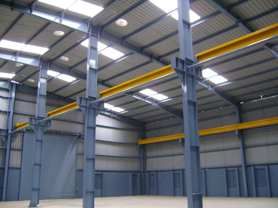 Galpón Industrial - vista interior