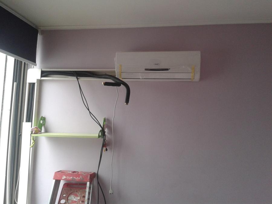 Foto instalacion aire acondicionado anwo eco 9 de for Como montar un aire acondicionado
