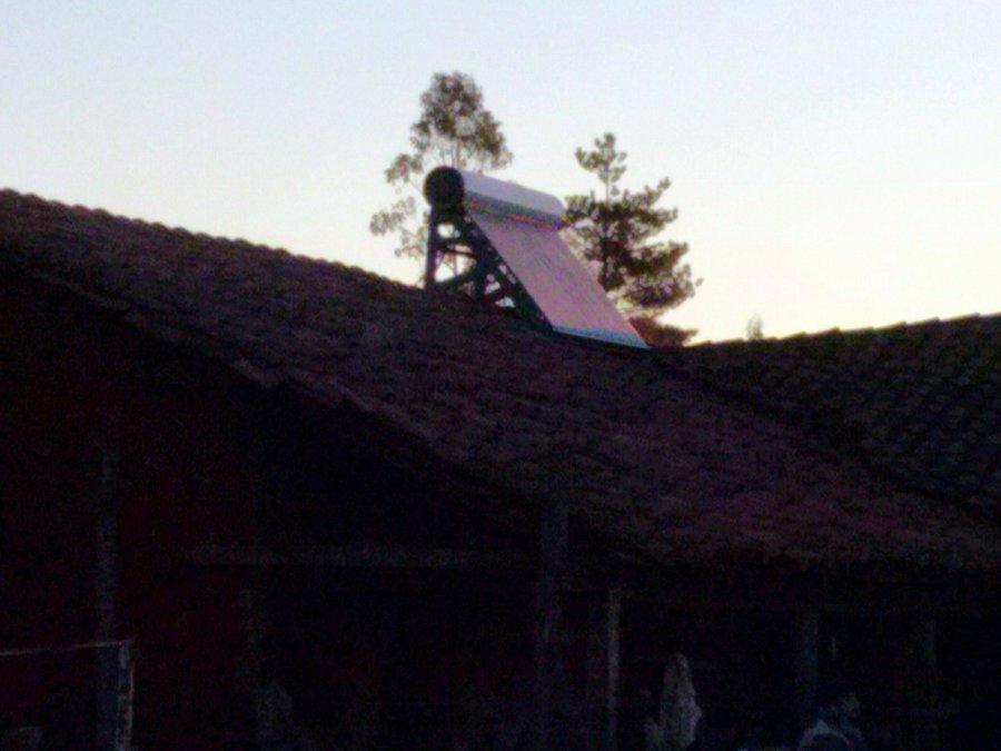 Instalación Termo Solar en Chanco