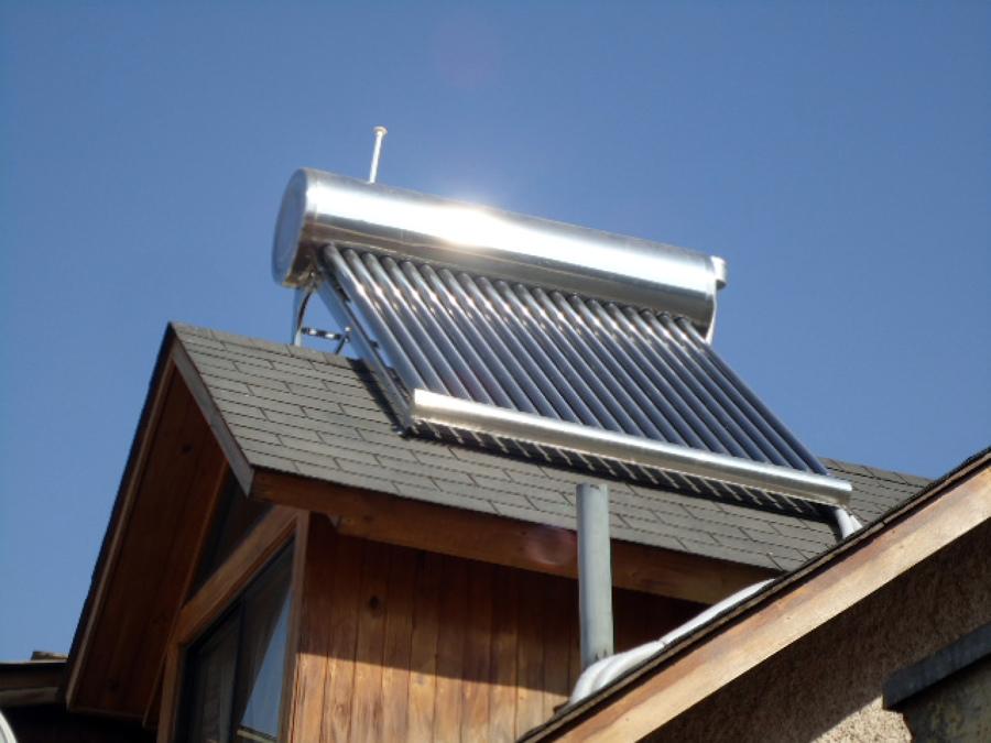 Foto instalaci n termo solar pudahuel de comercial idps for Termo solar precio