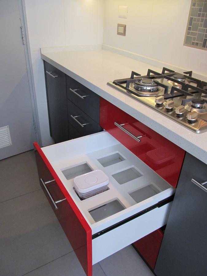 Foto muebles de cocina departamento providencia de dis for Muebles de cocina departamento