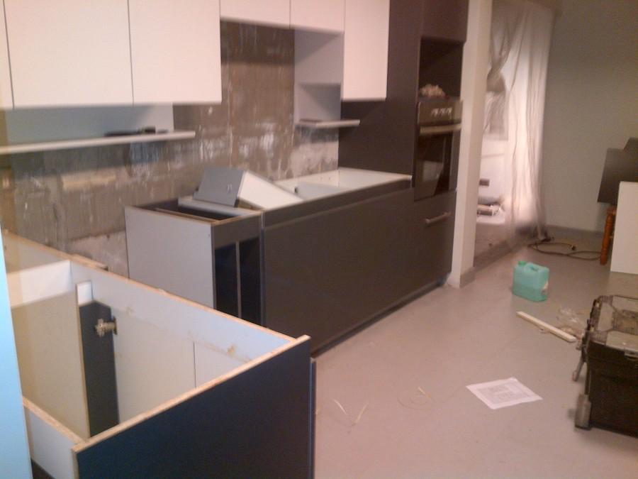 Foto: Muebles de Cocina en Proceso de Instalación. de Carpinterias ...