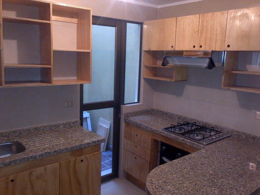 Foto 3 muebles terciado estructural de remodela - Muebles de cocina hechos de obra ...