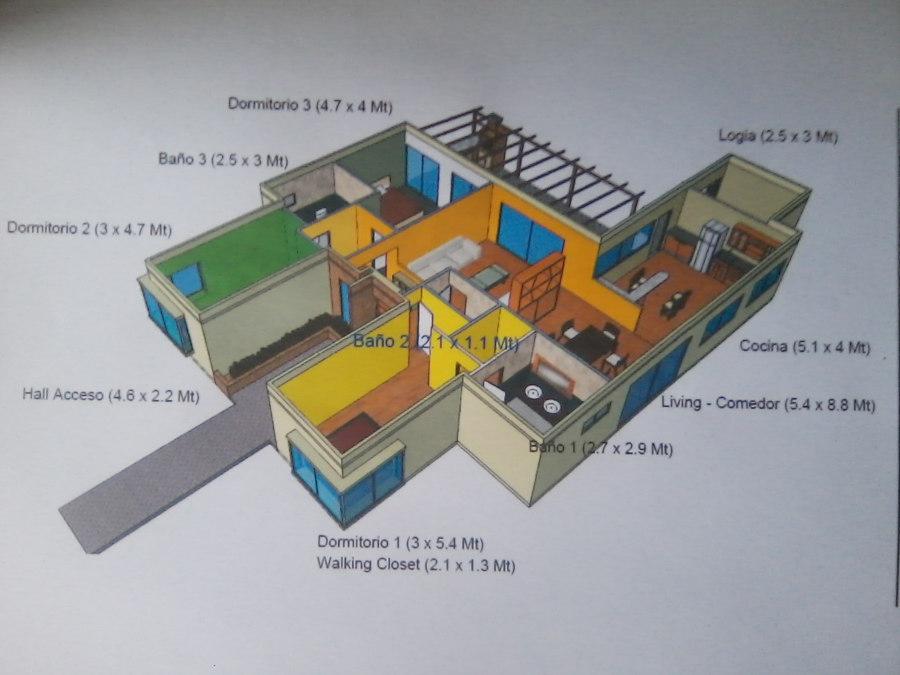 Casa Mediterraneo 159 m2