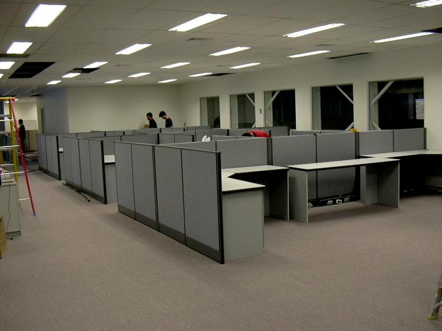 Foto paneles divisorios de dofs 12019 habitissimo for Tabiques divisorios para oficinas