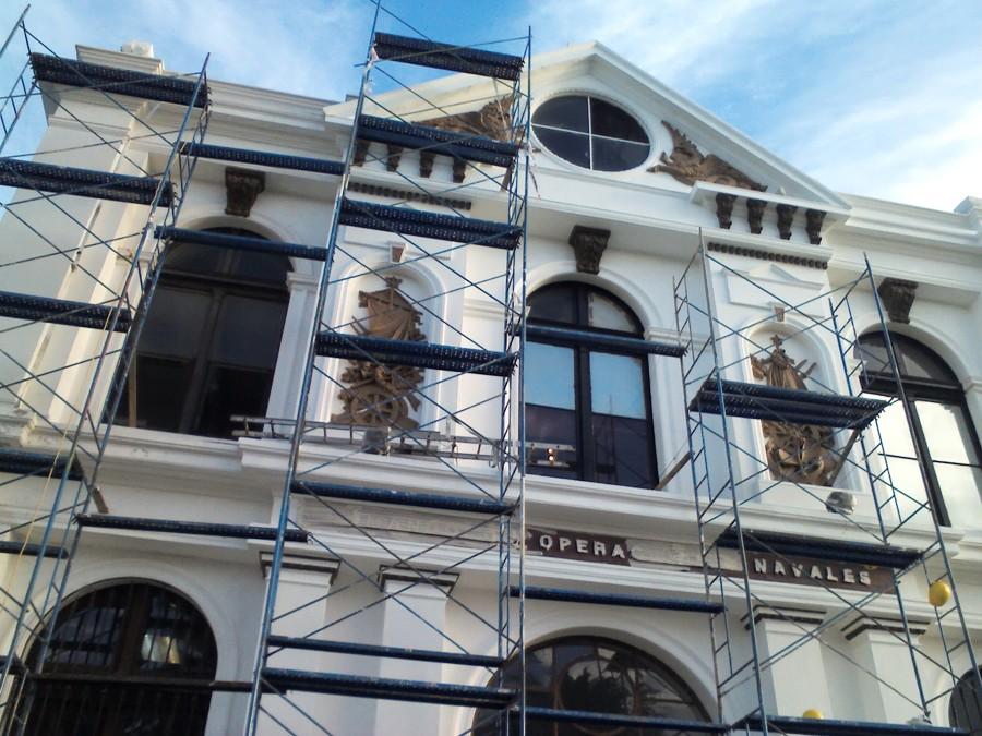 Foto pintado de fachada de recomax servicios 53072 habitissimo - Pintado de fachadas ...