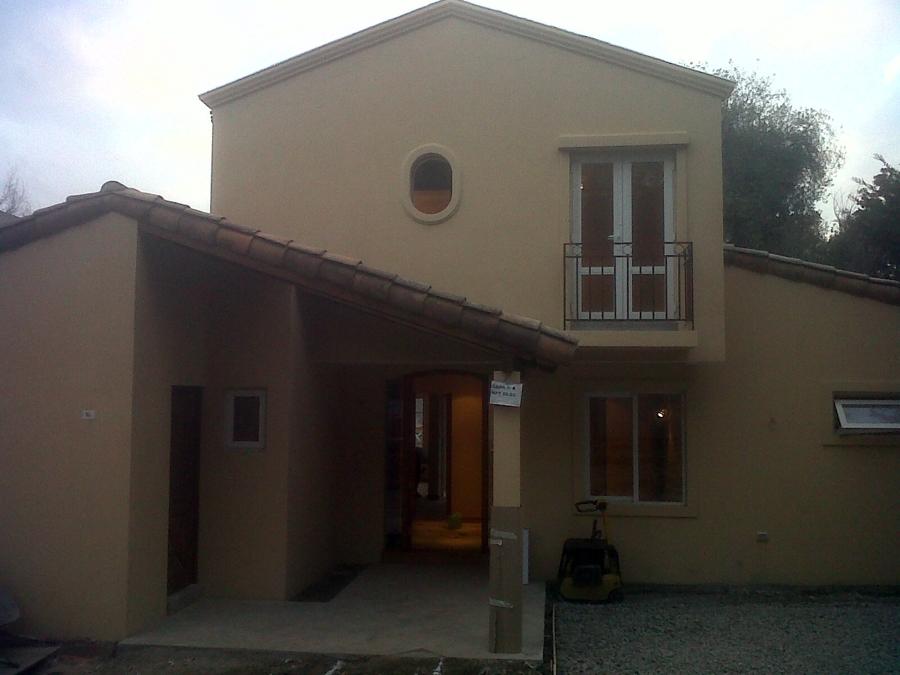 Foto pintura exterior casa 2 de taller y pinturas zb ltda for La casa de las pinturas