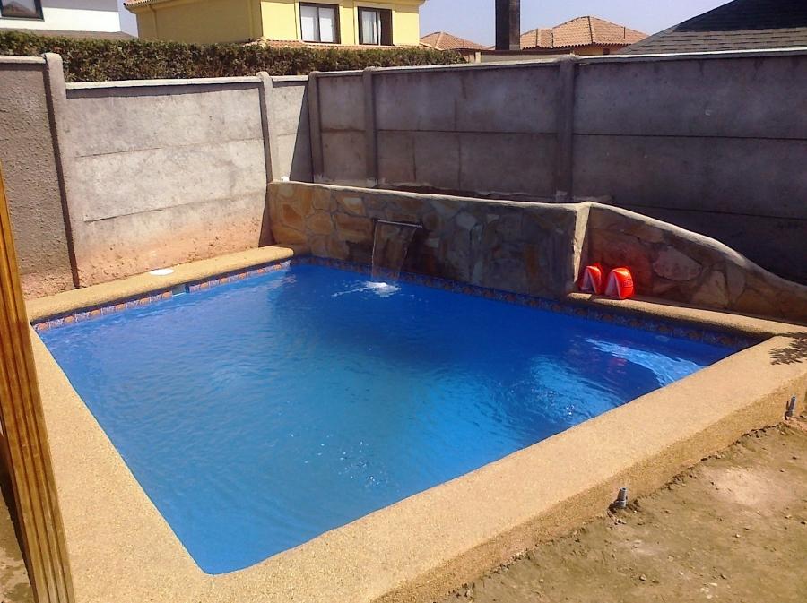 Foto piscina jardinera y cascada de ecam ltda 10683 - Piscinas pequenas precios ...