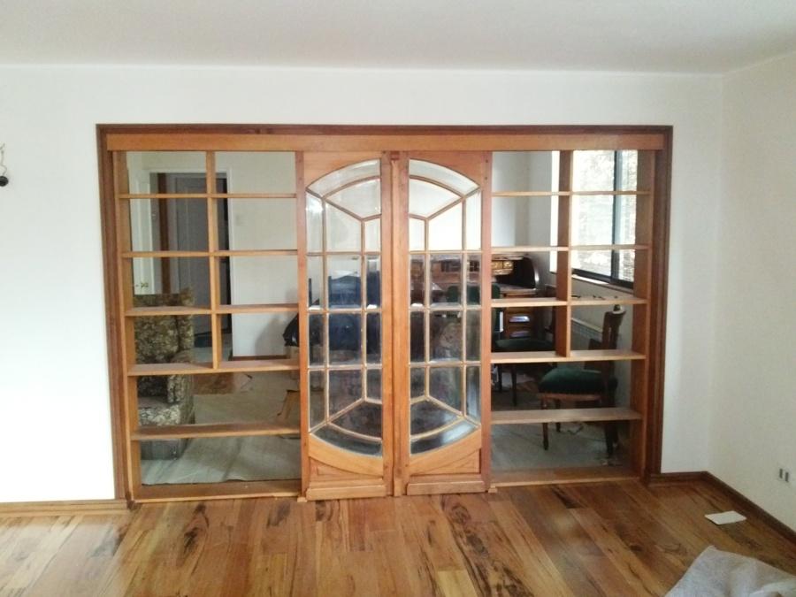 Foto piso y separador de ambiente de donoso - Separadores de ambientes de cristal ...