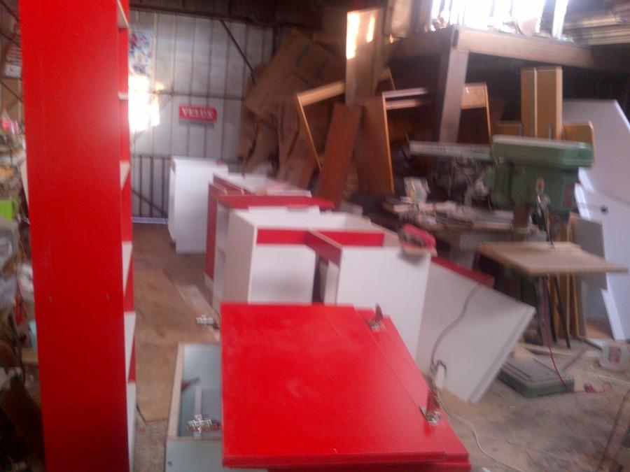 Foto proyectos de muebles de cocina de carpinterias punto for Proyecto muebles de cocina