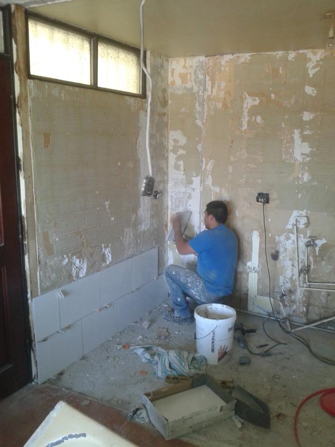 Foto remodelacion cocina y ba os departamento de for Remodelacion de casas pequenas fotos