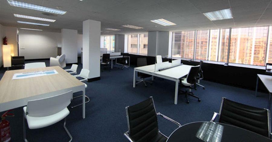 Foto remodelacion oficina senama del estado valparaiso de for Remodelacion oficinas