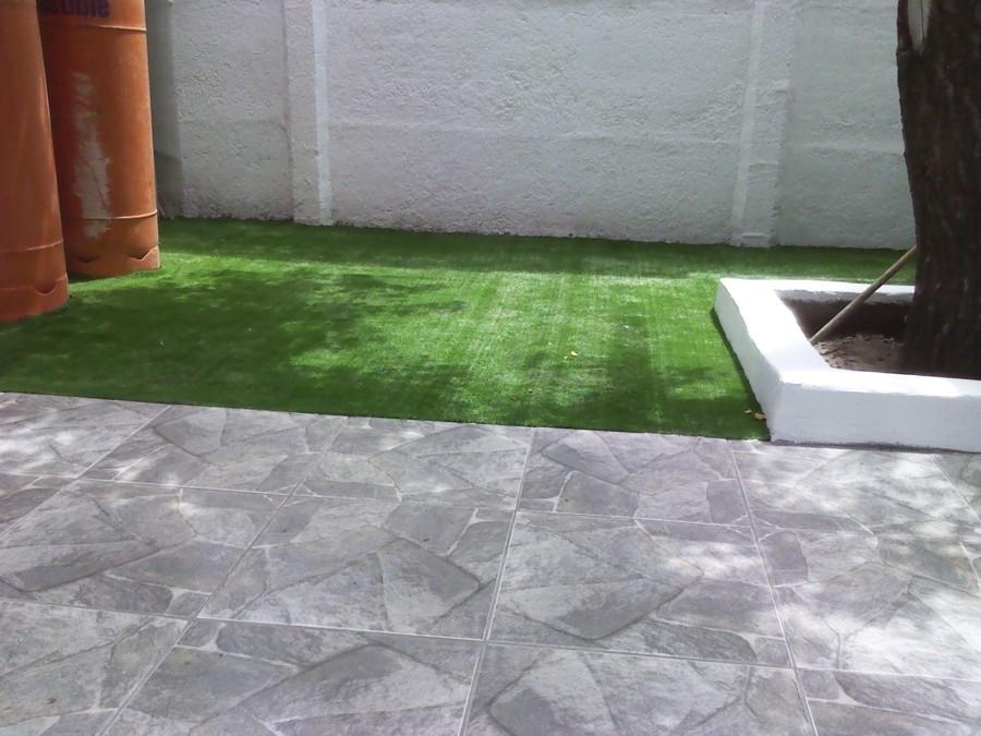 Foto remodelacion patio interior de gyr instalaciones for Ceramica para patio precios