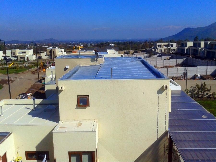 Foto techo americano de patricio daniel rodriguez for Modelos de techumbres