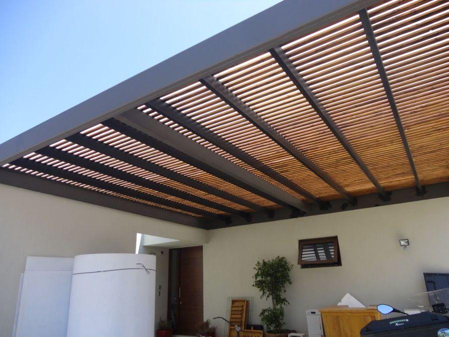 Foto techo terraza de c rsica construcciones 124926 for Techos terrazas fotos