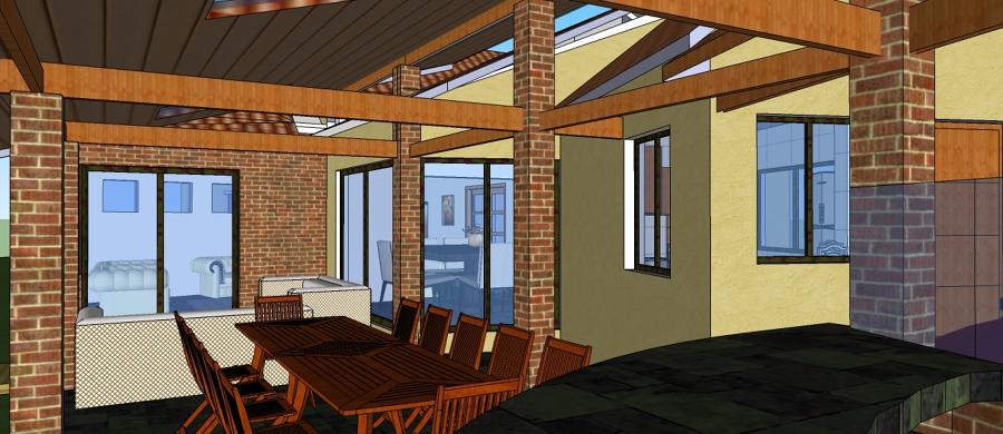Foto terraza barbacoa de arquitectura 17172 habitissimo - Barbacoa para terraza ...