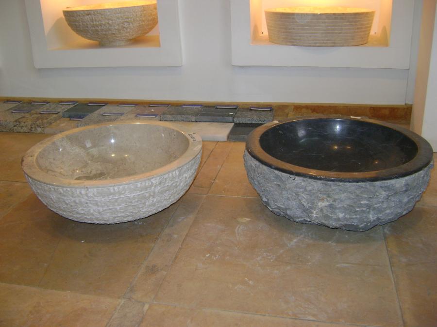 Foto vanitorios marmol y piedra rustica de opendeco for Precio marmol chile