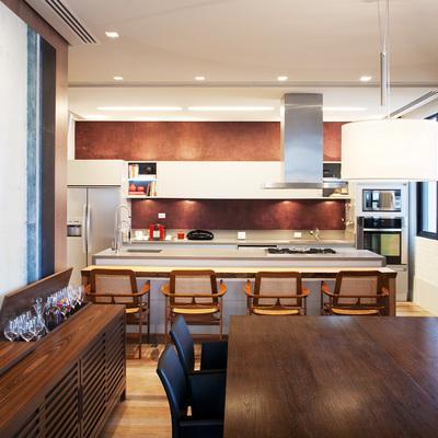 Cocina familiar casa Lo Curro
