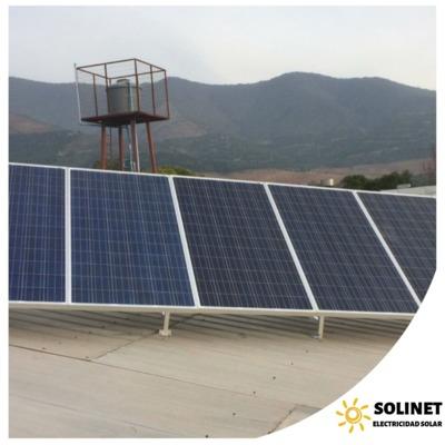 Proyecto realizado en Quillota por Solinet Electricidad Solar.☀️
