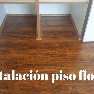 Intalacion piso flotante en departamento