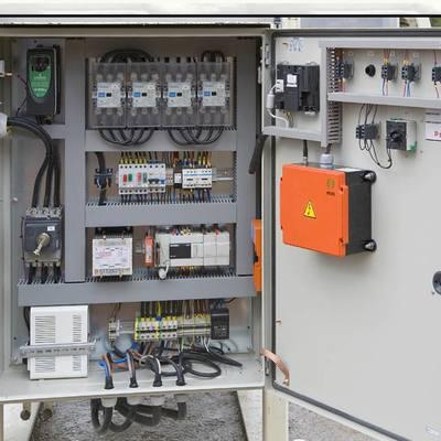 Tablero control automatice con PLC