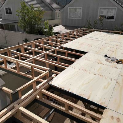 Elaboración de cubierta para terraza