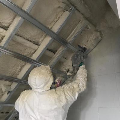 Aislacion termica para techos altos