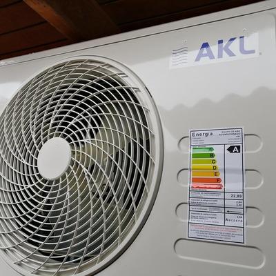 Instalación sistema climatización, cliente sector Nelson Pereira, Rancagua