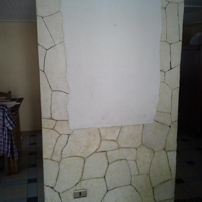 Imitación de piedra