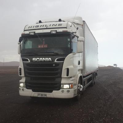 Viajando por el desierto km 1255