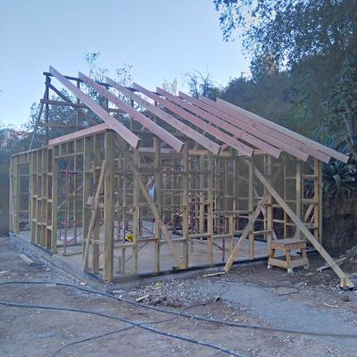 Cabaña 45 m2 Fundo San Francisco de Los Andes, Parcela 129, Sector el Estero (Obra Gruesa)