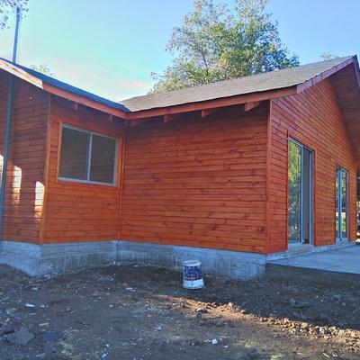Cabaña 45 m2 Fundo San Francisco de Los Andes, Parcela 129, Sector el Estero (Terminada)