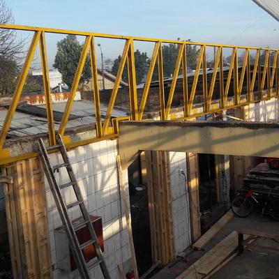 Estructura metalica de cubierta