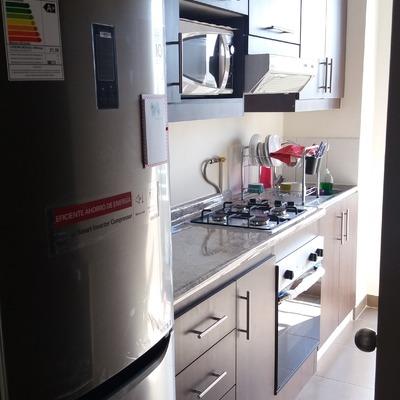 cocina en departamento